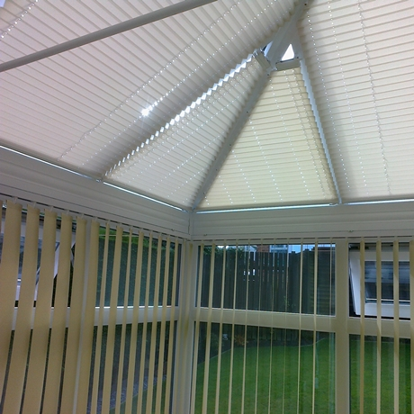 A Shade Blind For Conservatory Blinds In Bradford