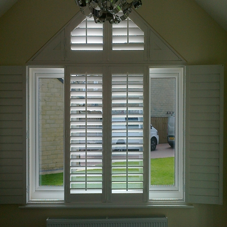 A Shade Blind For Plantation Shutters In Bradford Amp Ilkley