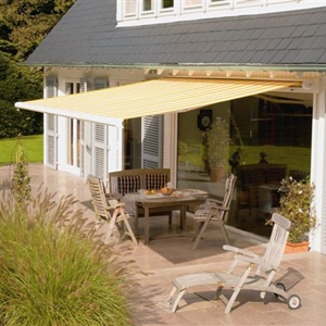 Awning for gardens, patio awning, commercial awning
