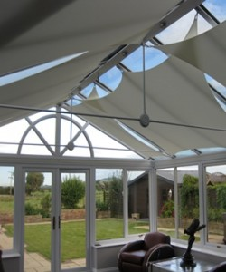 Conservatory Sails for conservatory roof