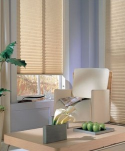 Pleated blinds for the home or conservatories