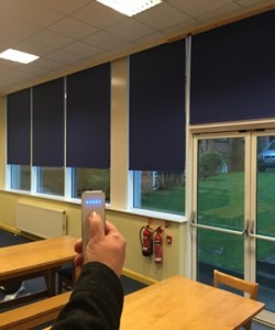 motorised blinds for domestic, commercial or school use