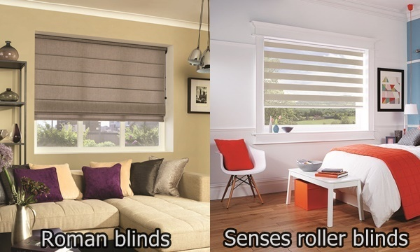 Roman blind styles lahood roman blind styles styles for Styles of window blinds