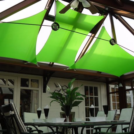 A Shade Blind For Conservatory Roof Sails In Yorkshire